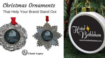 15 Custom Christmas Ornaments Help Make YOUR Brand Stand Out