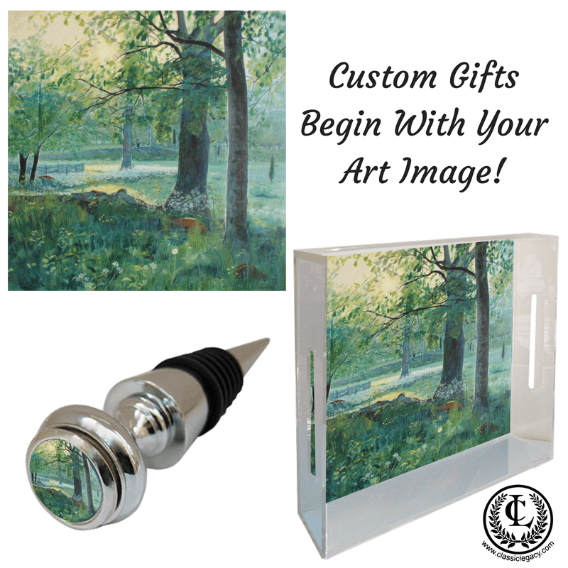 Custom Gifts begin with YOUR art