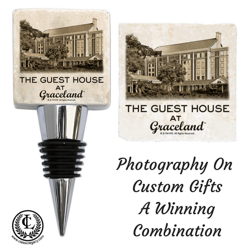Photographs custom personalized gifts Graceland Guest House