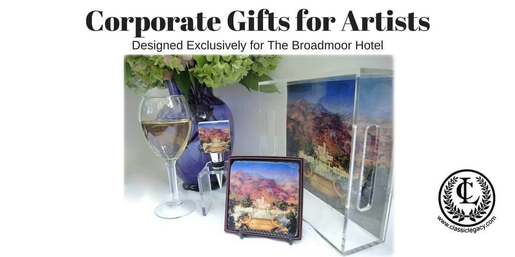 Corporate Gifts created with Art Images