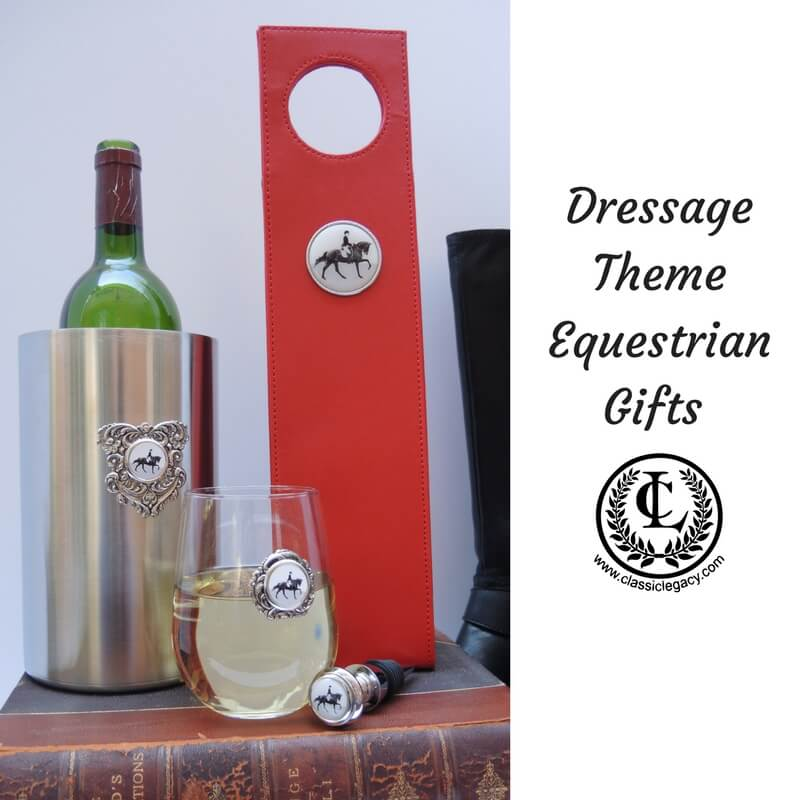 Dressage Theme wine Carrier and wine cooler