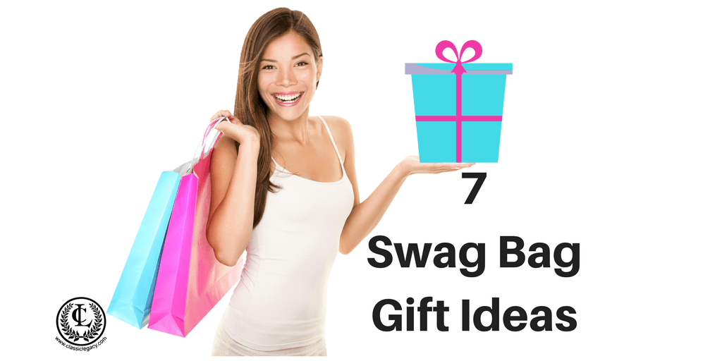 7 Swag Bag Gift Ideas | Classic Legacy Custom Gifts