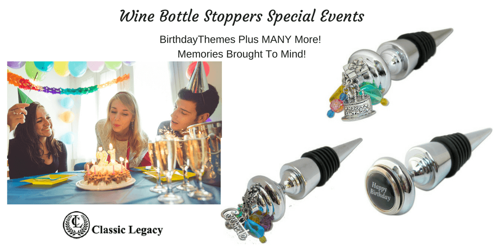 Special Event Wine Bottle stoppers