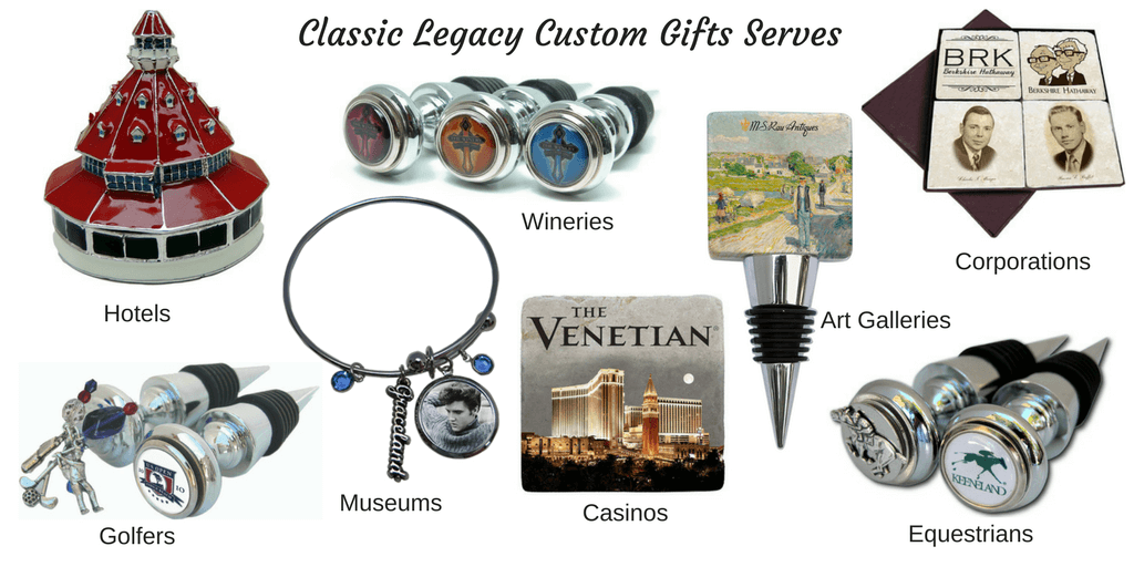 Classic Legacy serves hotels, wineries, art galleries, corporations, museums, casinos,equestrians, and golfers.