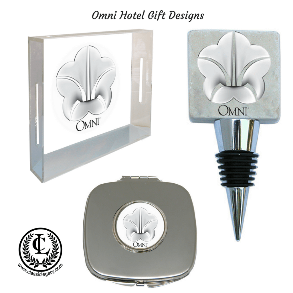 Custom Hotel Gifts for Omni by Classic Legacy