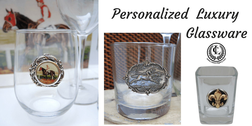 Personalized Luxury Glassware by Classic Legacy