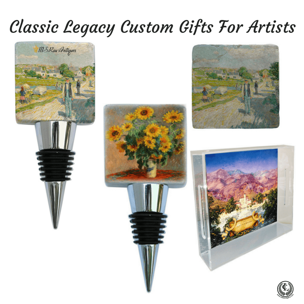 Classic Legacy Custom Gifts Serve Artists