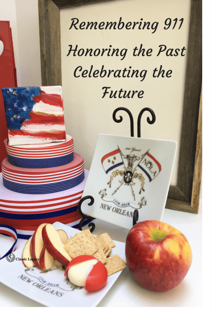 NOLA2018 Tricentennial Gifts Honoring 911 USA holiday