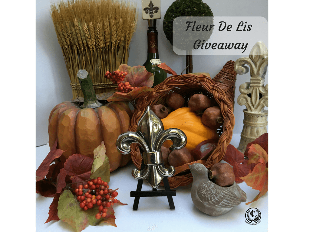 Jewelry Gift Giveaway Classic Legacy Fleur de lis Designs