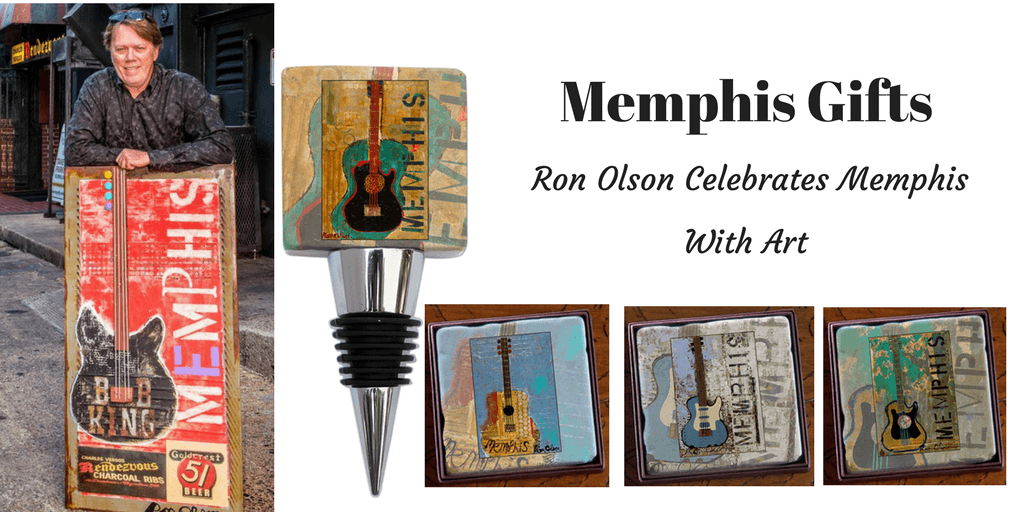 Memphis Gifts Celebrate Art of Ron Olson