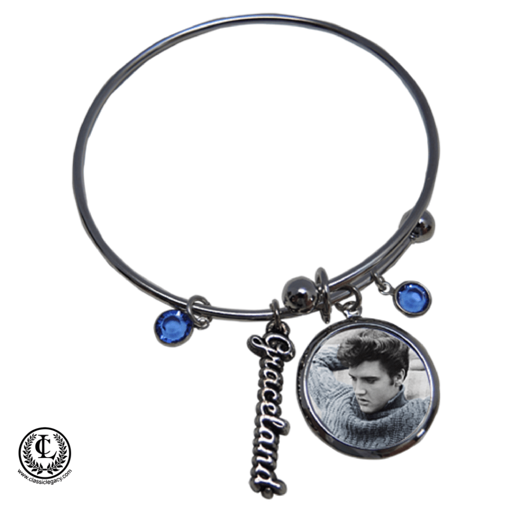 Personalized Gifts Elvis Graceland Custom Bracelet
