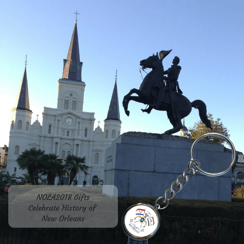 Collectible Gifts NOLA2018 Key Ring St. Louis Cathedral