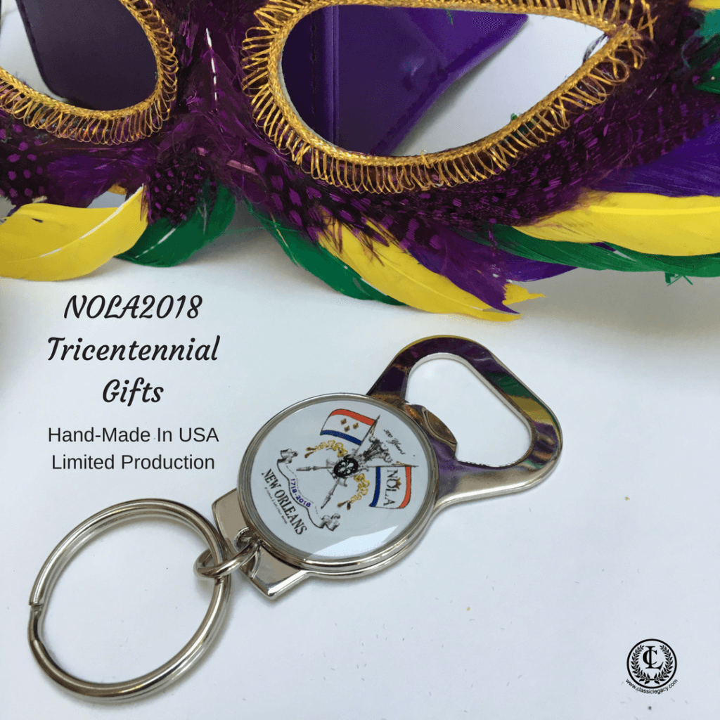 NOLA2018 Key Ring Mardi Gras