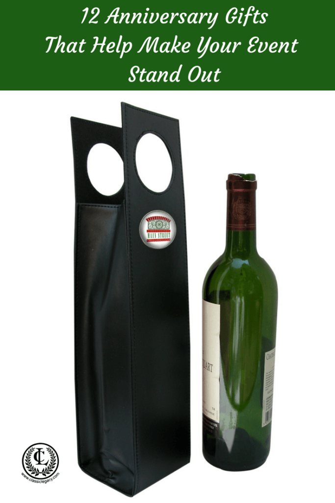 Wine Carrier Anniversary Gift for Collierville