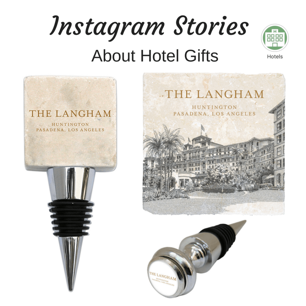 Instagram Story Icons highlight Gifts for Hotels by Classic Legacy