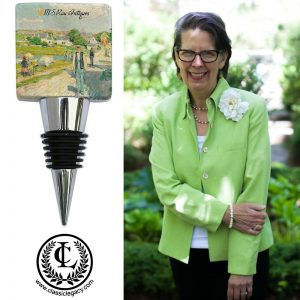 Classic Legacy Custom Gifts Catherine Designer & Marble stopper