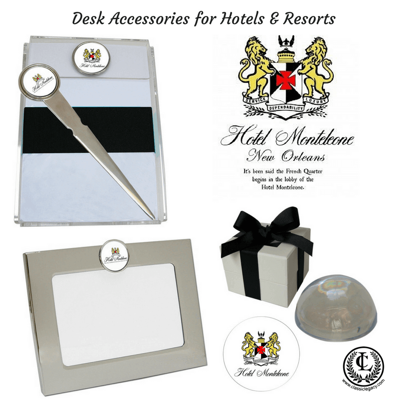 Custom Hotel Gifts Include Desk Accessories
