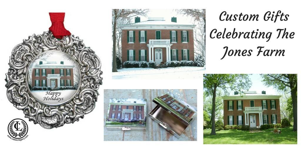 Catherine Tatum designs celebrating the Jones Farm roots