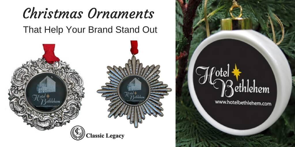 Christmas Ornaments That Help Your Brand Stand out