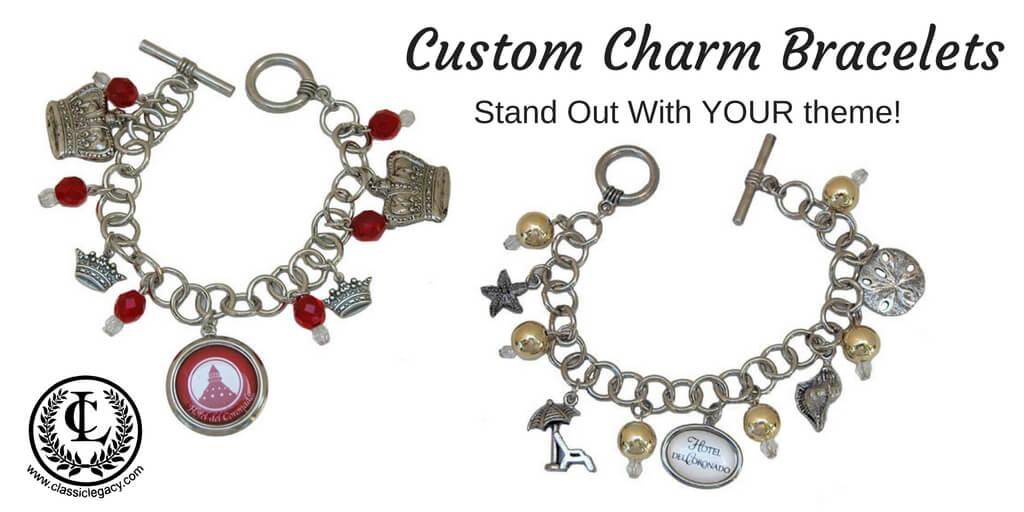 Custom Charm Bracelets For Hotel Del Coronado