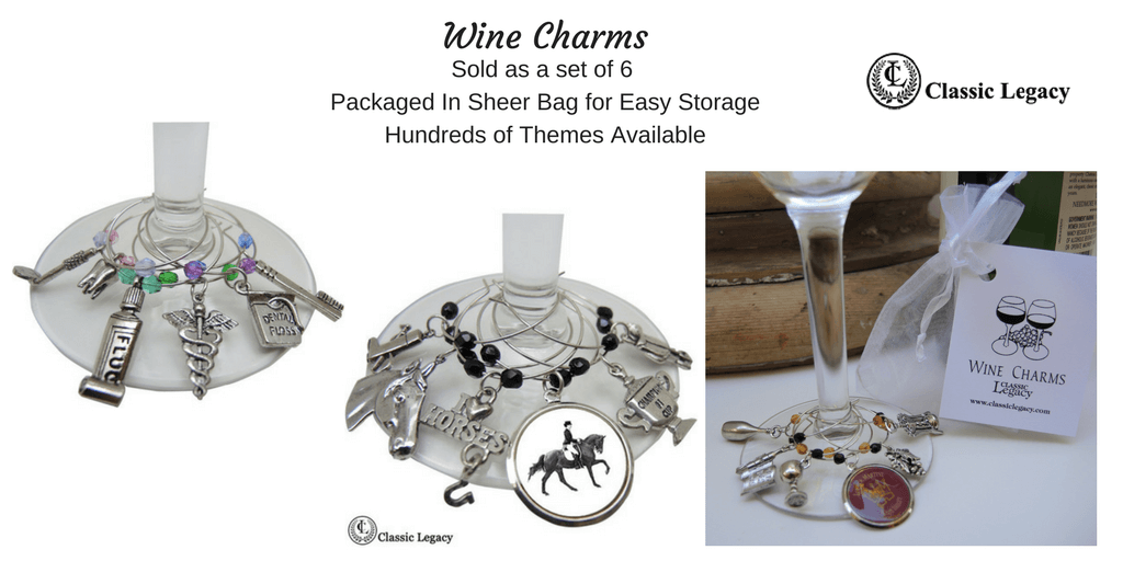 Wine Charms and Personalized Wine Gifts