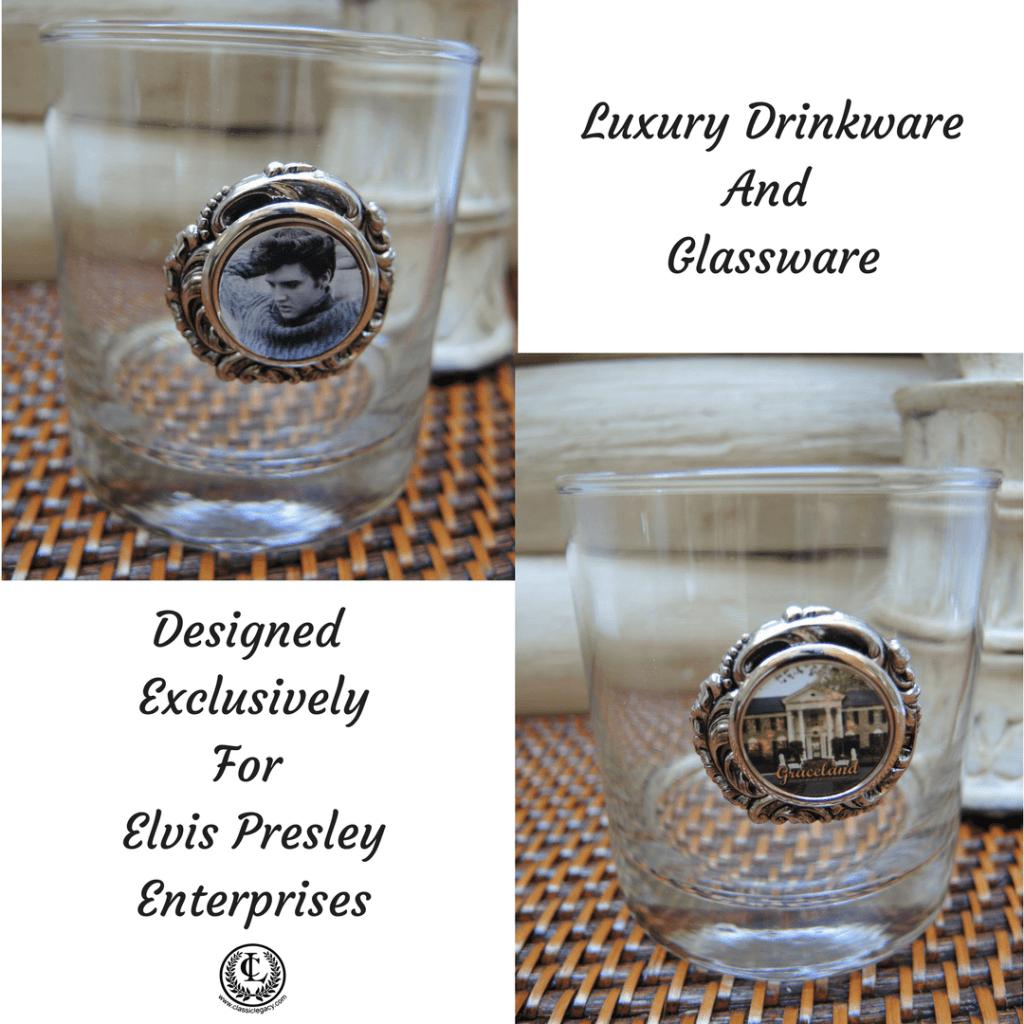 Bourbon Glass Elvis Designs