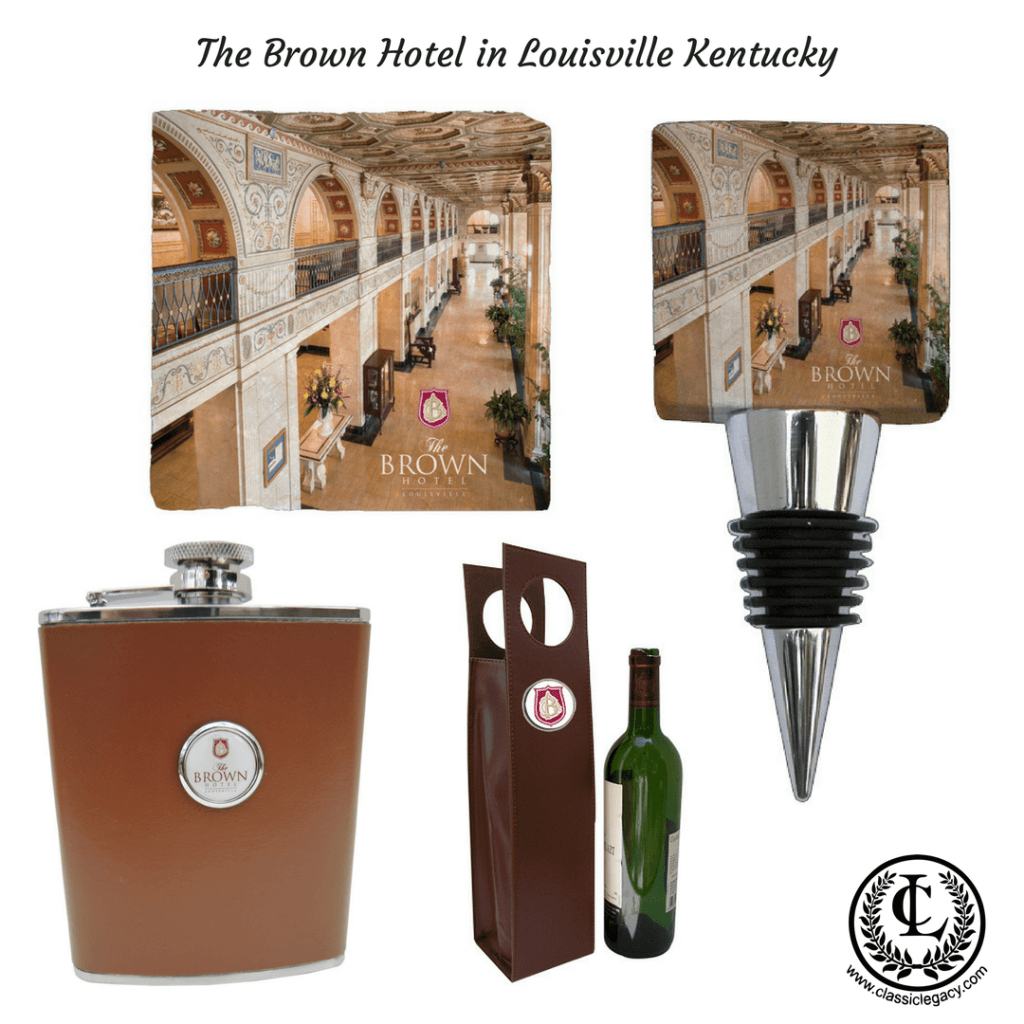 Custom Hotel Gifts Designed For The Brown Hotel by Classic Legacy