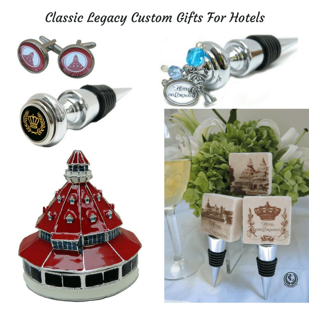 Classic Legacy Custom Gifts Serves Hotels