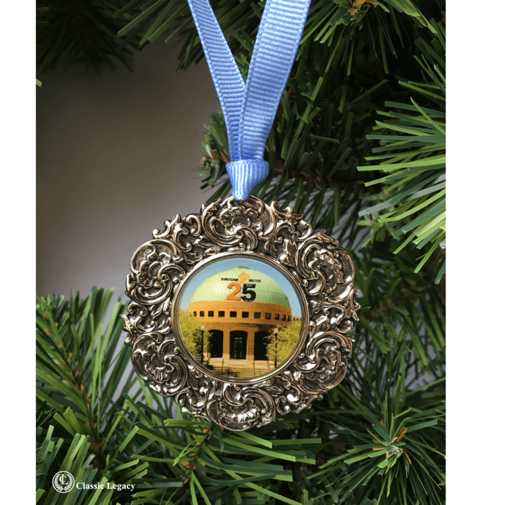 Personalized Gifts Civil Rights Institute Christmas Ornament