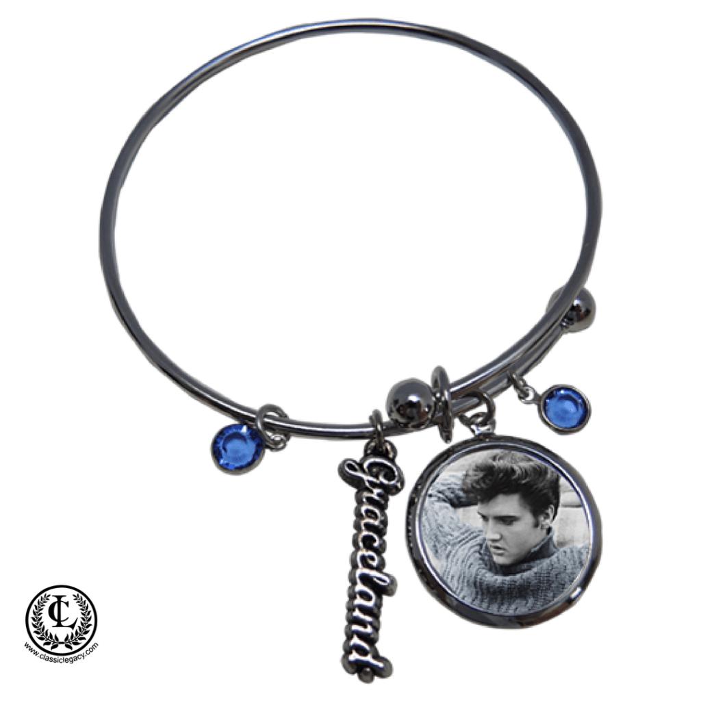 Personalized Gifts Elvis Graceland Custom Bracelet