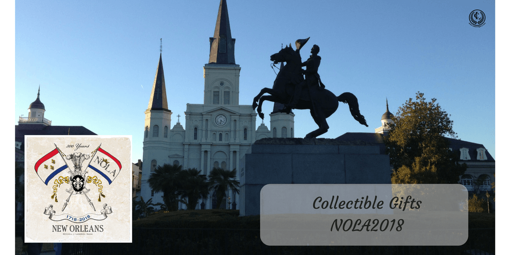 Collectible Gifts For New Orleans Tricenntenial