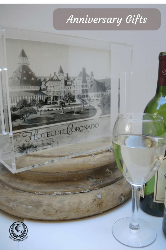 Acrylic Tray Vintage Hotel Del Coronado