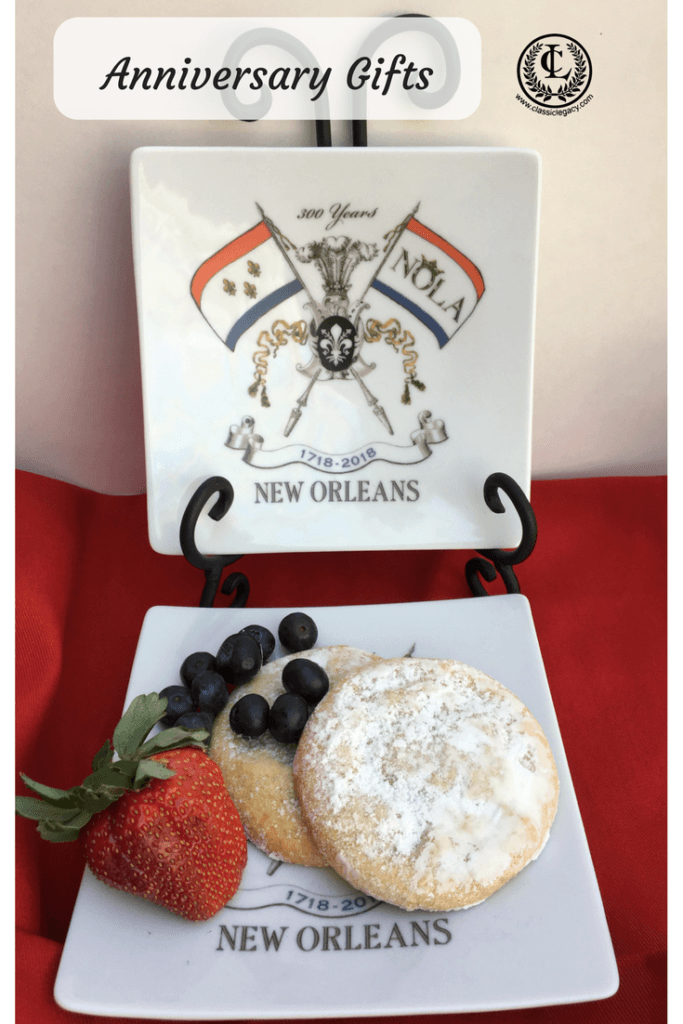 Small Plate Celebrating New Orleans Tricentennial