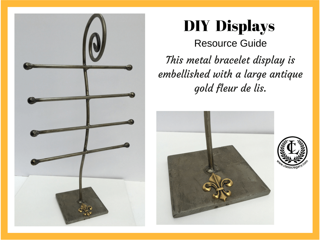 DIY Luxury Retail Display for Bracelets
