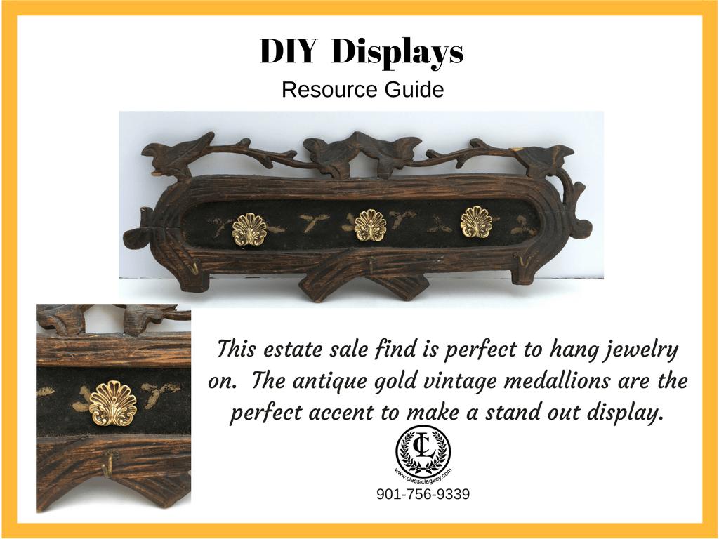 DIY Luxury Retail Display Estate Sale Find