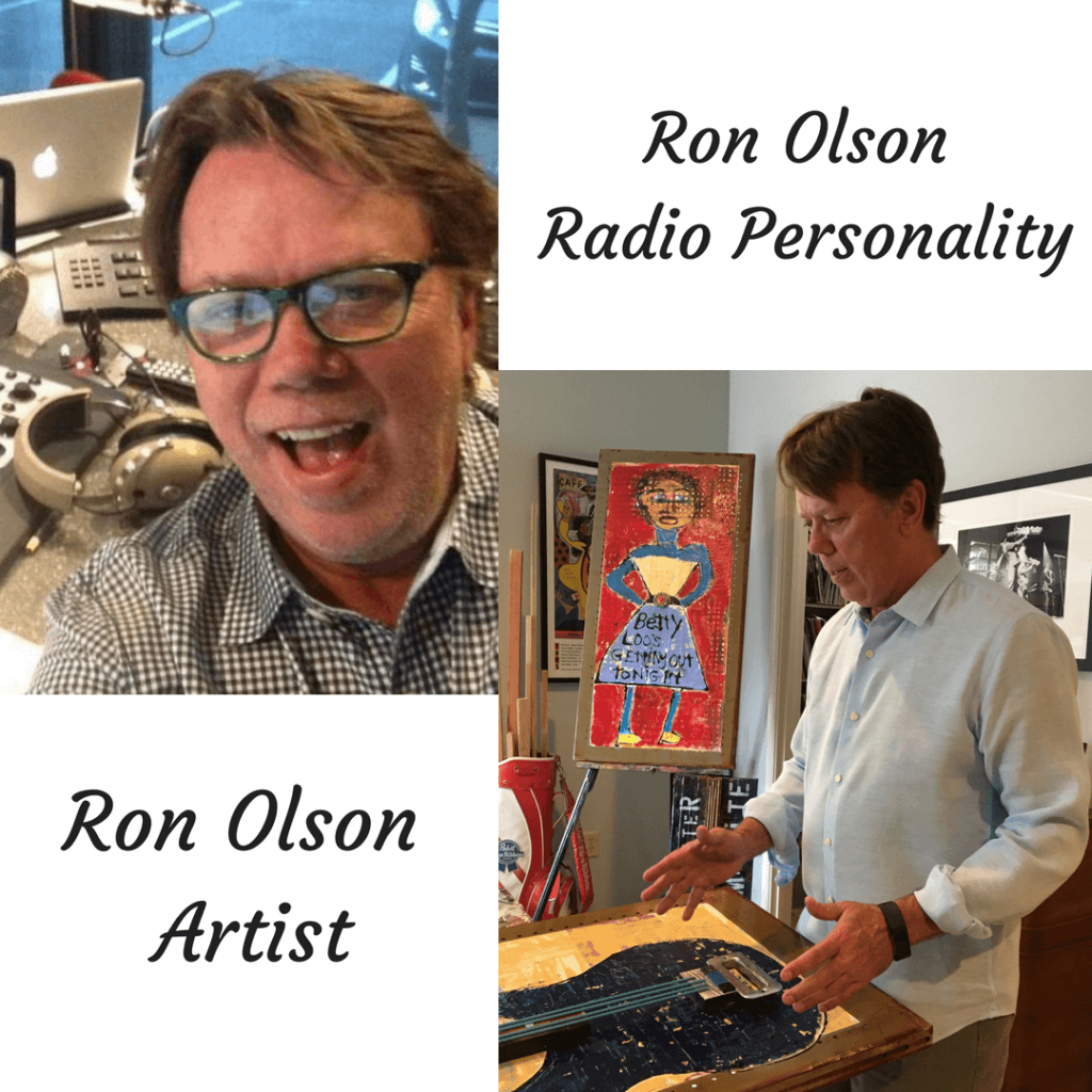Memphis Art and Ron Olson radio personality artist