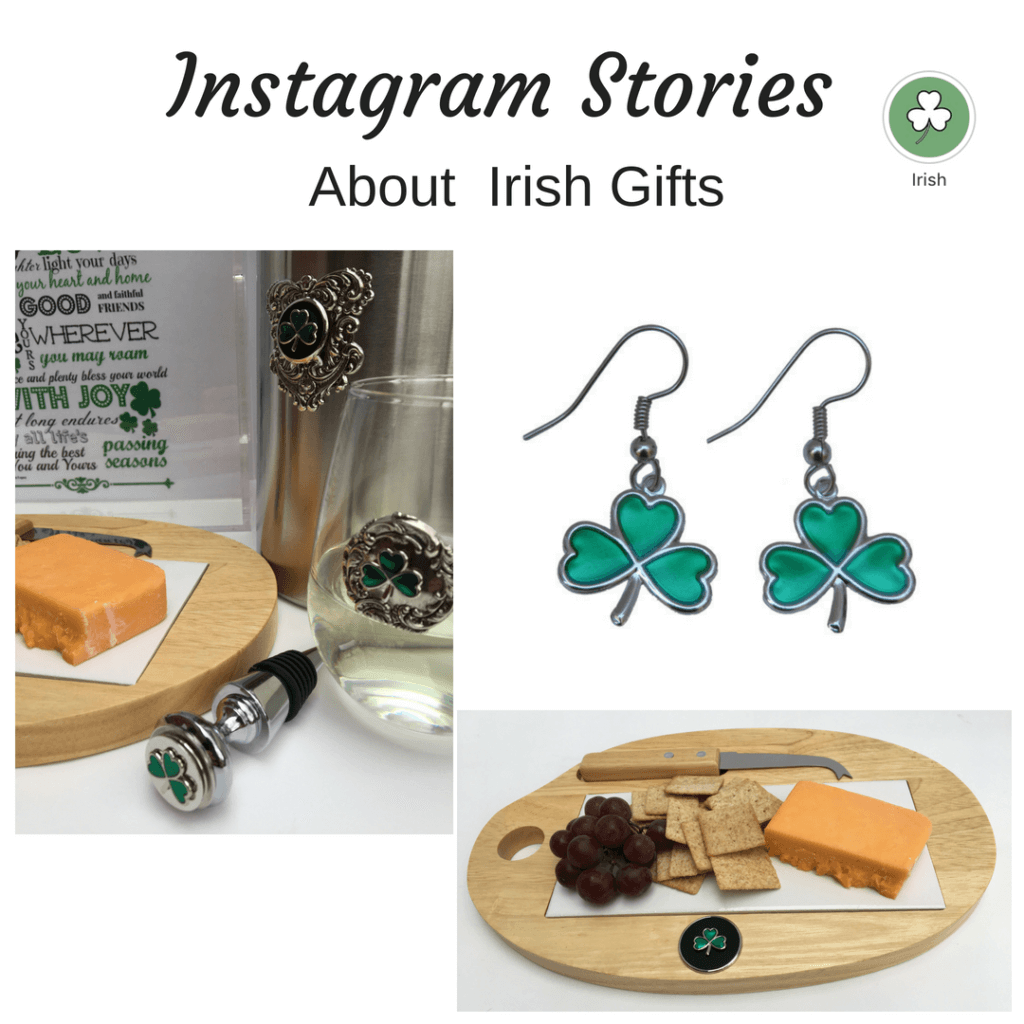 Instagram Story for Irish Gifts